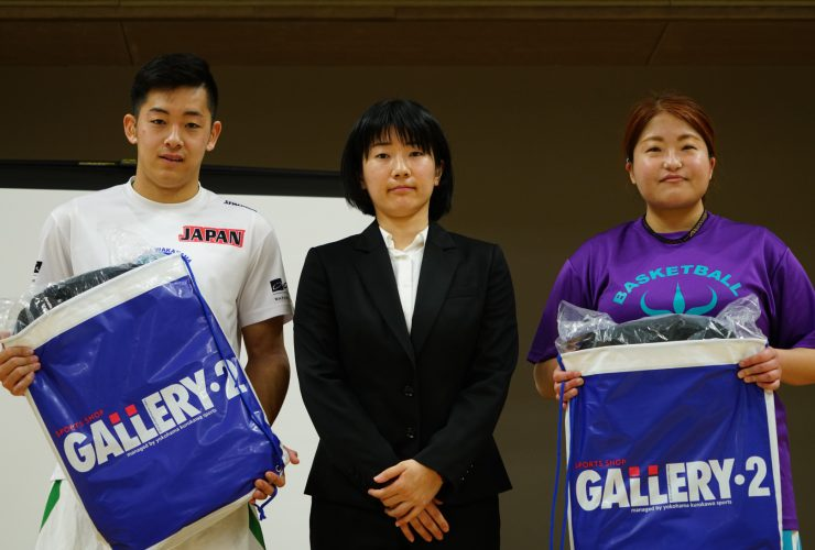 【MVP】男子:誠family #35 長田 拓巳  女子:EMERALD #12 豊里 凛